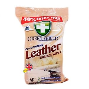 Leather surface wipes 70large wipes